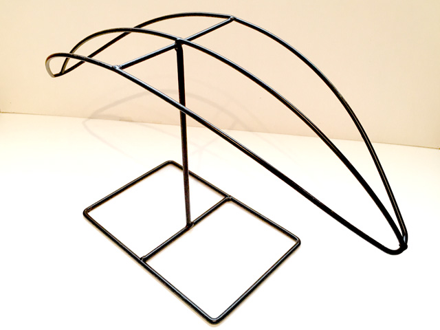 Floral umbrella wire stand